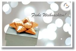 Karten für Weihnachten und den Jahreswechsel