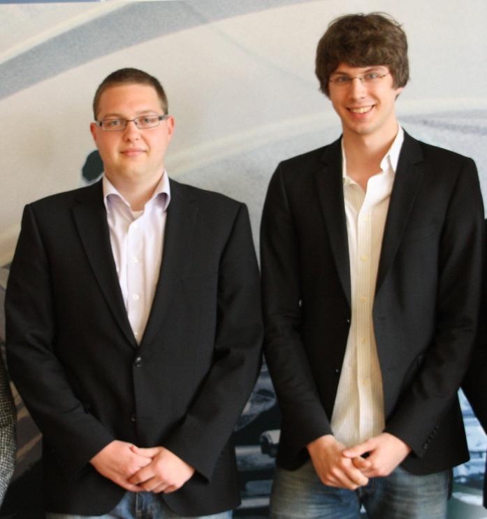 STUPRAX Absolventen - Herren Greilach und Manegold