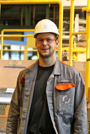 Herr Koepke, Betriebsingenieur Feuerverzinkung