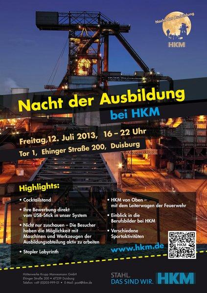 Nacht der Ausbildung bei HKM