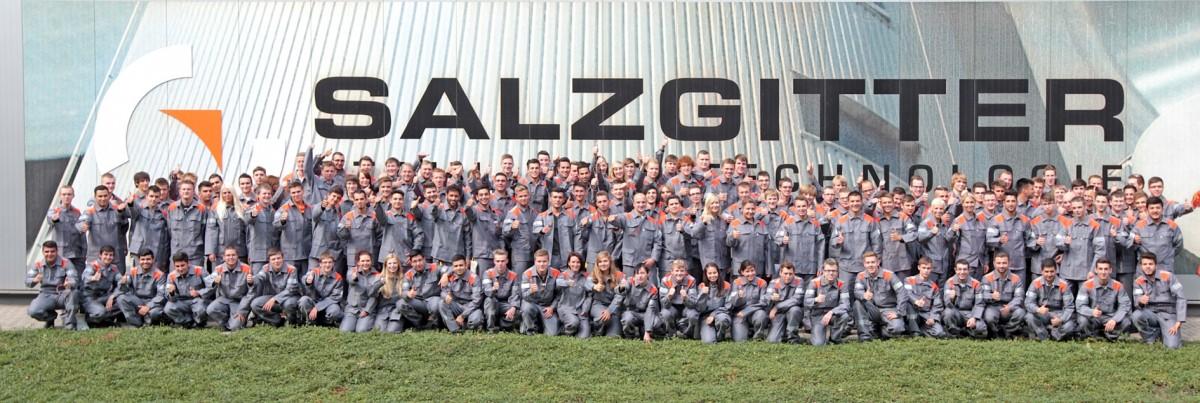 Die neuen Auszubildenden der Salzgitter AG