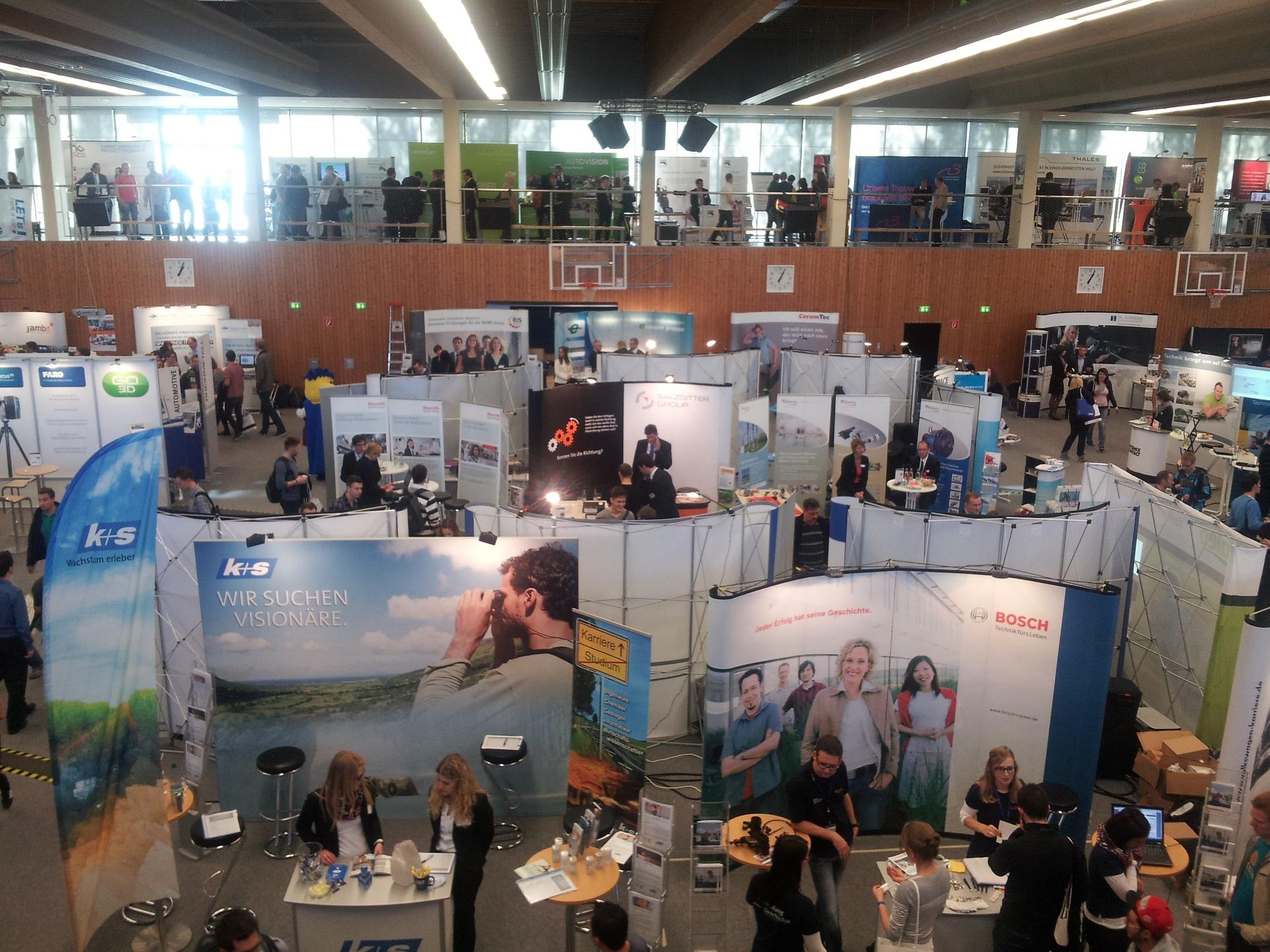 Hochschulkontaktmesse an der TU Ilmenau