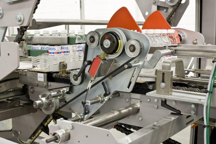 TrayShrinkPacker Faltstation (@2014, KHS GmbH)