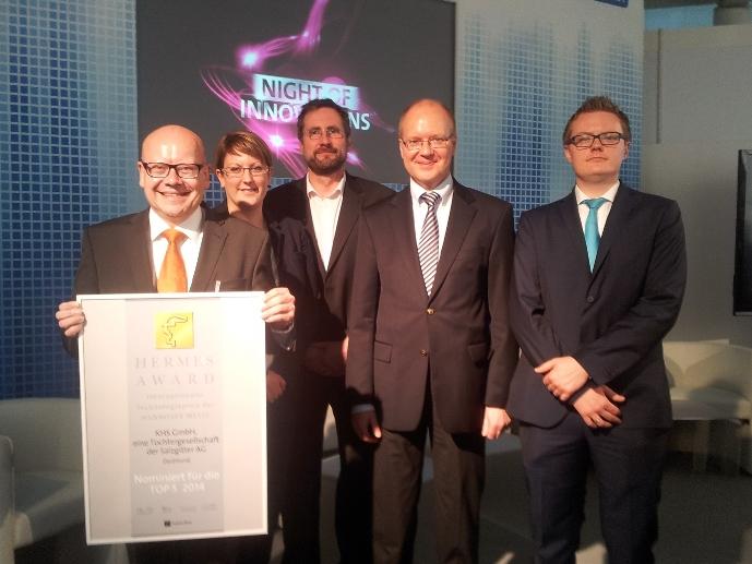 Nominiert für Hermes Award