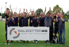 Siegermannschaft des Jahres 2014 (Fotograf: Jörg Dreyer)