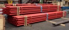 Beschichtete Rohre Stahlhandel