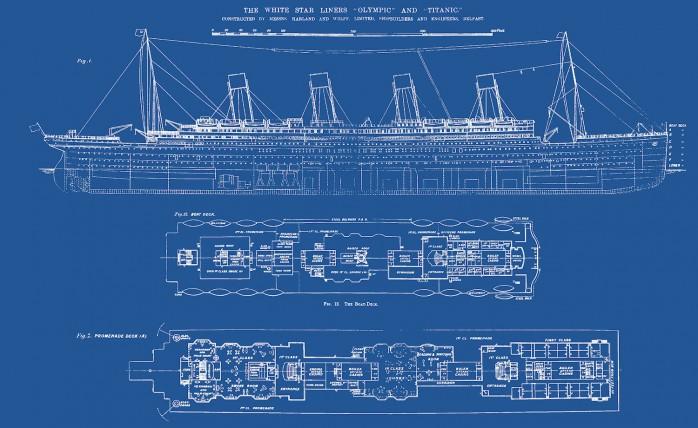 Länge Titanic