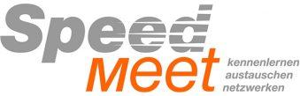 SpeedMeet-Wortmarke mit Claim