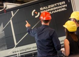 Szene aus dem Salzgitter Mannesmann Recruitingfilm für Azubis