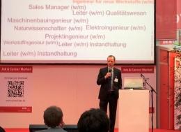 Vortrag im Career Forum