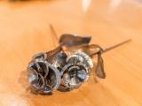 Unsere Rosen aus Stahl
