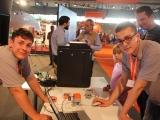 11.) Auszubildende von uns auf der IdeenExpo