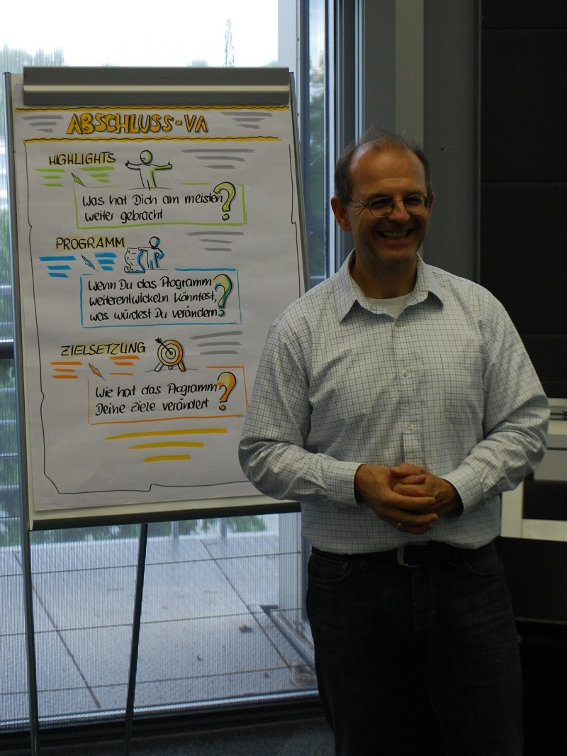 Unser Trainer im STEP.ING Programm: Andreas Mutzke