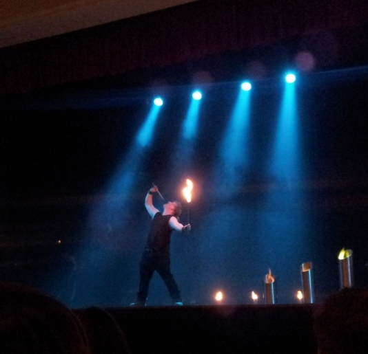 2012/03/15 - Feuershow beim ISDM 2012