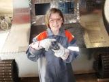 2012/06/02 - Stolz zeigt Luise ihr Werk