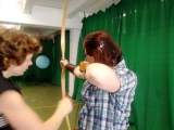2010/06/08 - Bogenschießen Training