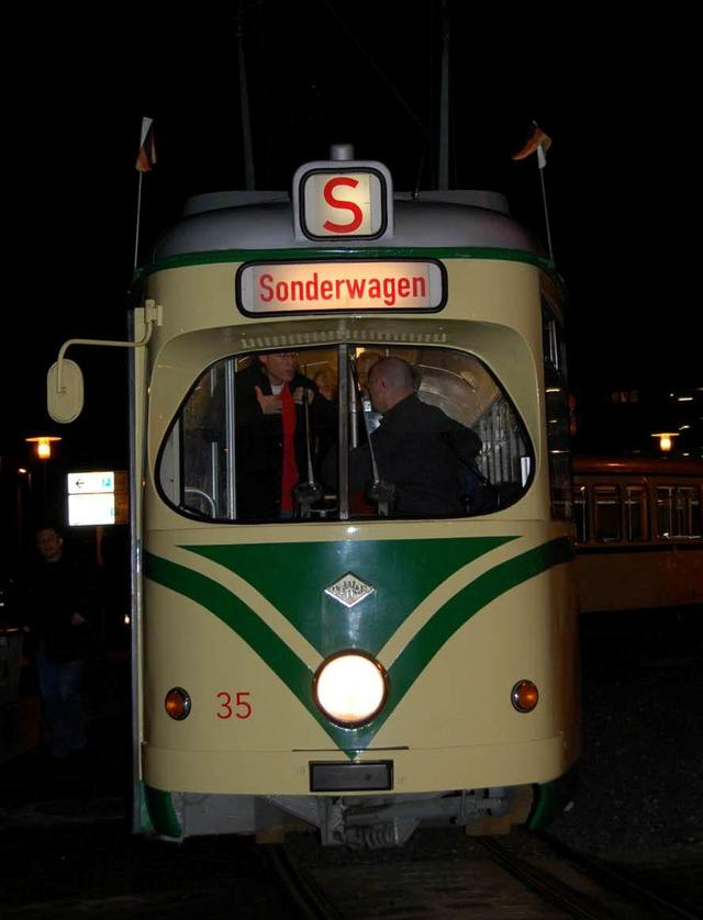 2008/01/07 - Trambahnfahrt durch Braunschweig